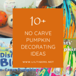 10+ Fun and Easy No-Carve Pumpkin Decorating Ideas for Kids
