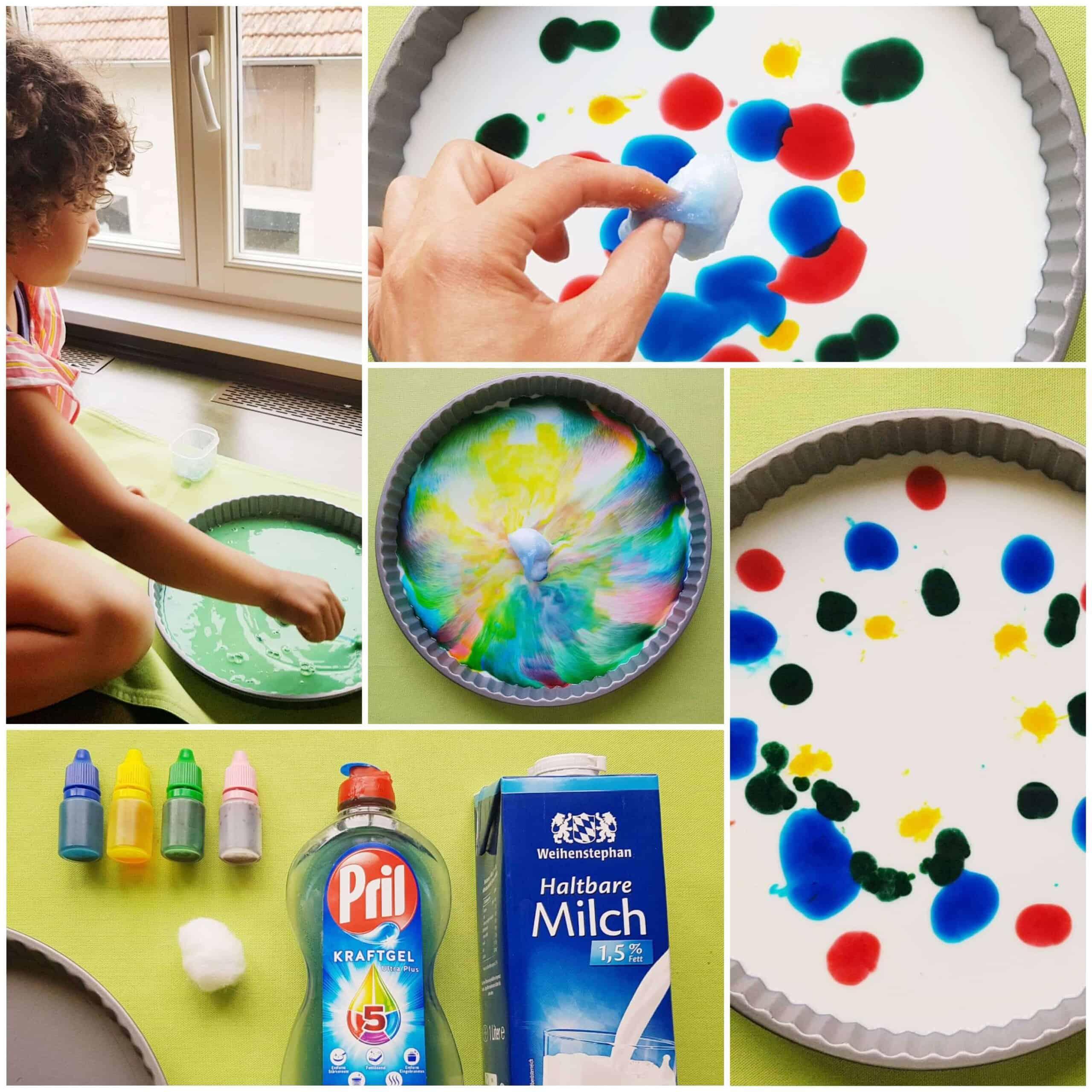 milk dish soap kitchen experiment