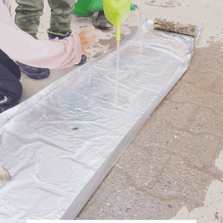 How to Build Your Own DIY Foil Stream With Kids