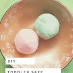 How to Make Your Own Toddler Safe Play-dough