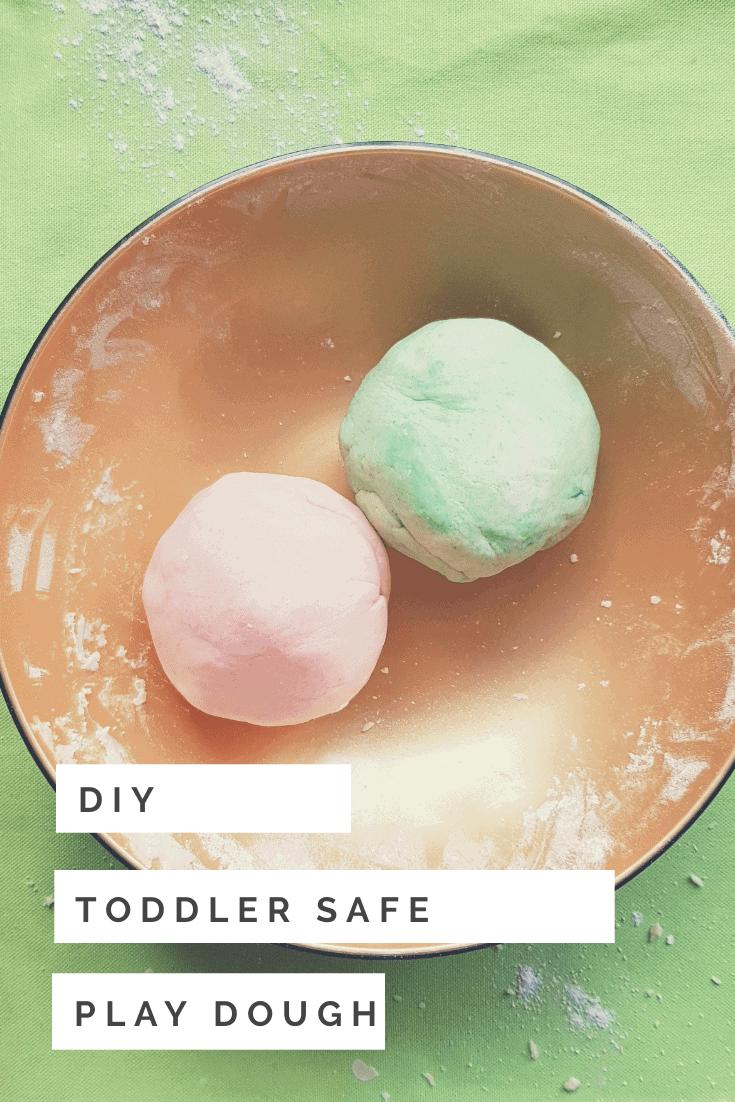 DIY Toddler Safe Play dough recipe