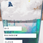How to Make Your Own Rainbow Cloud Experiment - DIY Rain Cloud In a Jar