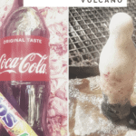 How to make your own coke volcano with kids