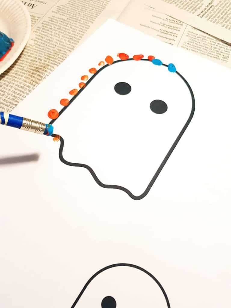 ghost stamps