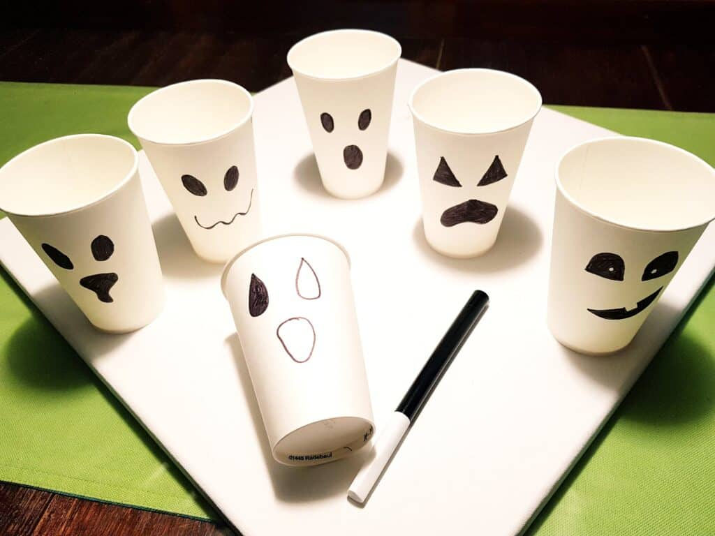 ghosts drink cups