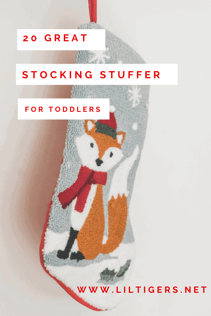 stocking stuffers for toddlers
