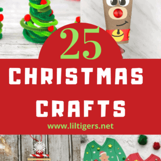 25+ Easy Christmas Crafts for Preschooler and Big Kids