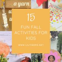 15 Amazing Fall Activities for Preschoolers and Big Kids