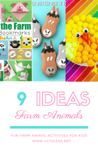 9 Farm Animal activities