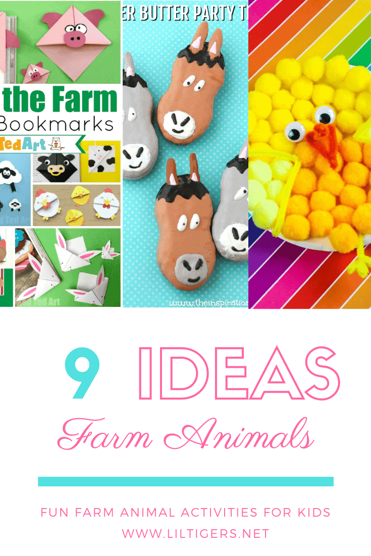9 Fun Farm Animal Activities for Preschoolers and Big Kids