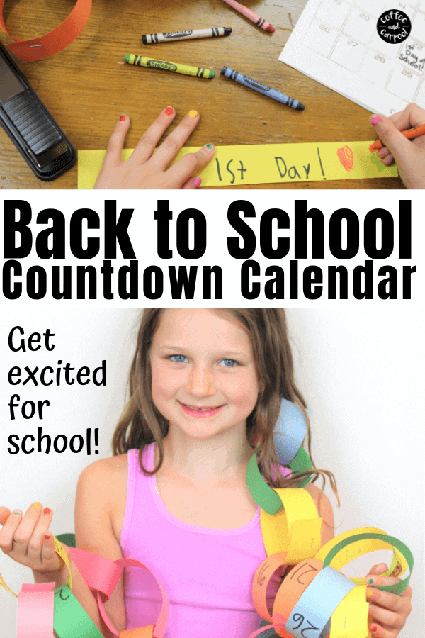 back to school countdown calendar