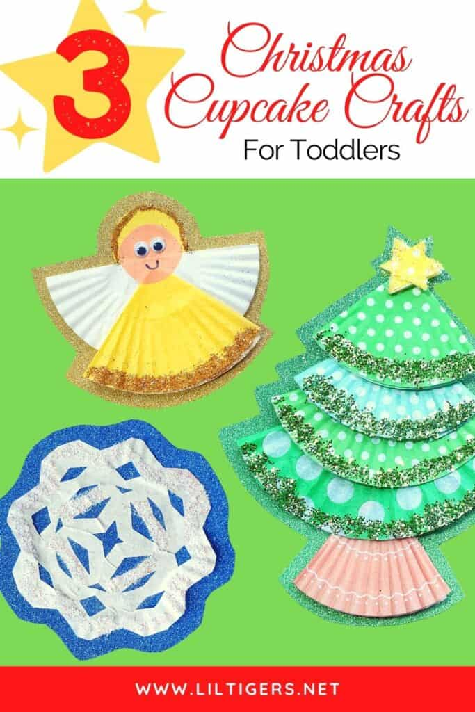 christmas cupcake crafts for toddlers