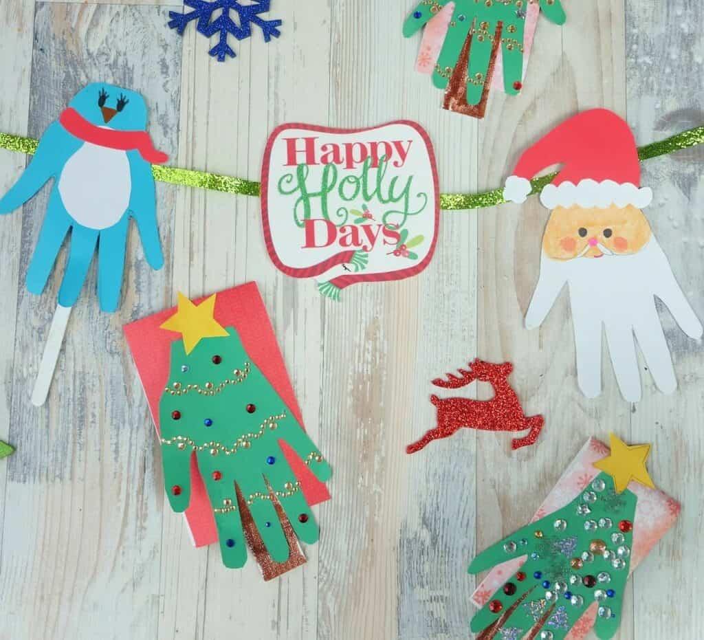 christmas craft handprint