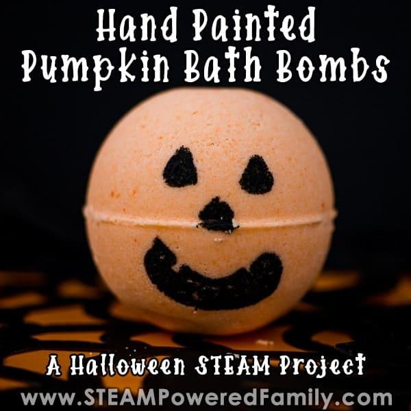 pumpkin bath bombs