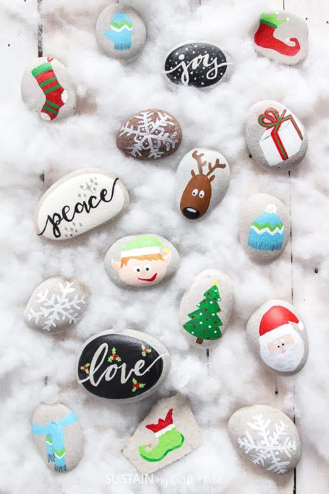 Christmas Rockpainting