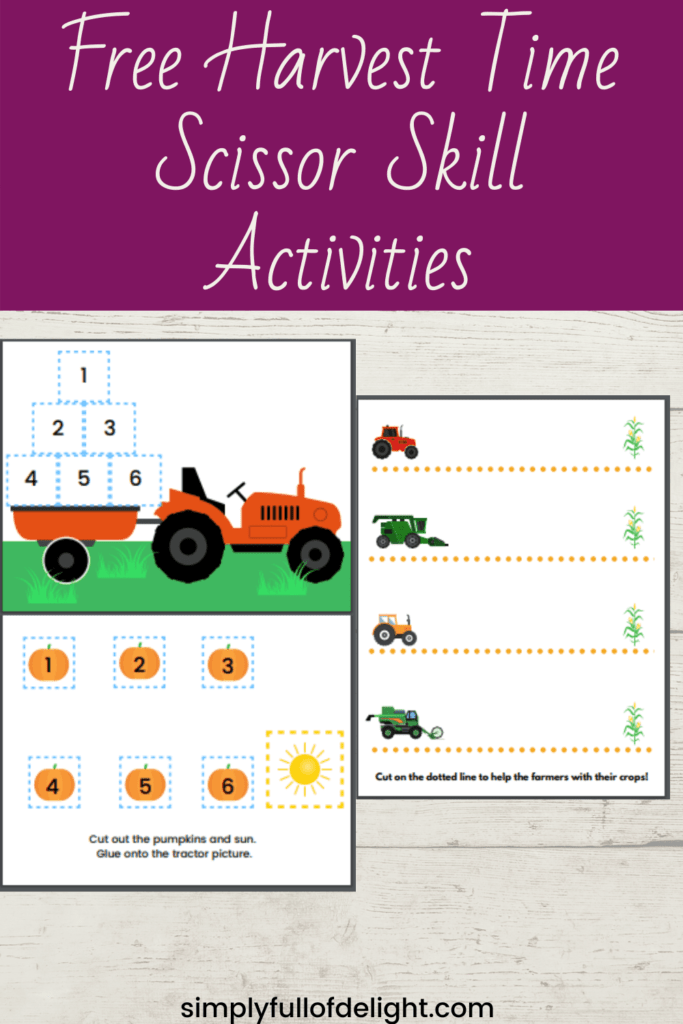farm educational printables