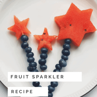 Easy Fruit Sparkler Recipe for Delicious Watermelon Treat