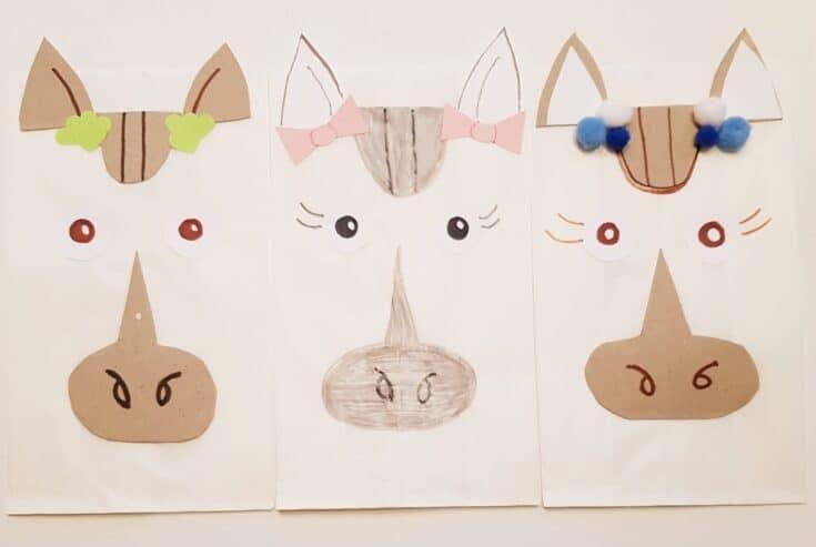 horse party favor bags
