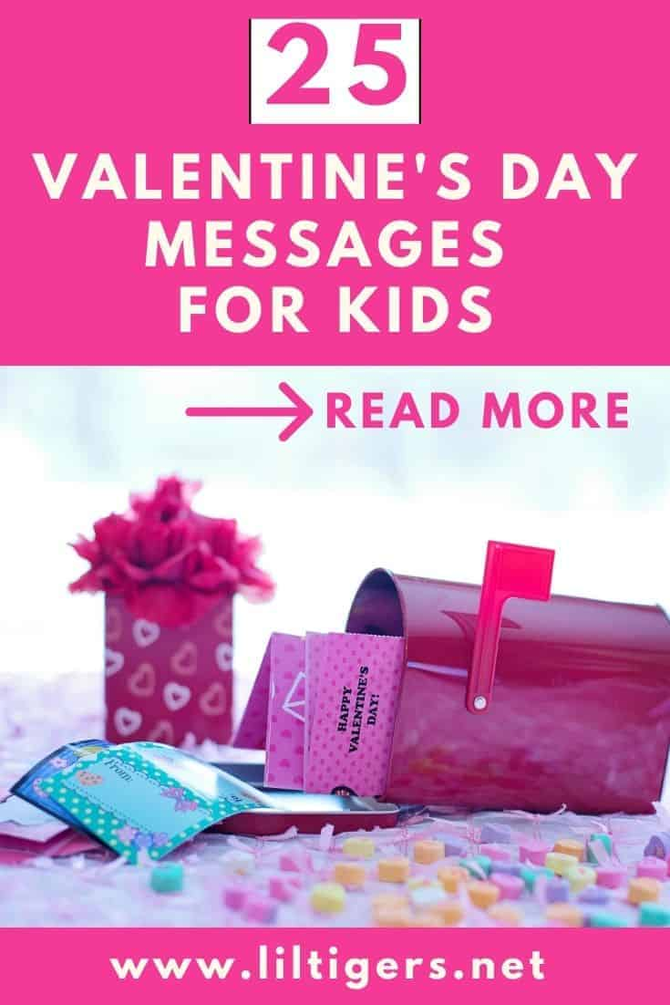 25 Valentines day messages for kids
