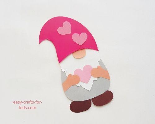 Valentine's day crafts: Valentine Gnome
