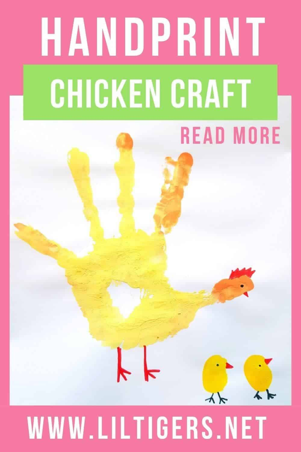How to Make Your Own Handprint Chicken Art Project