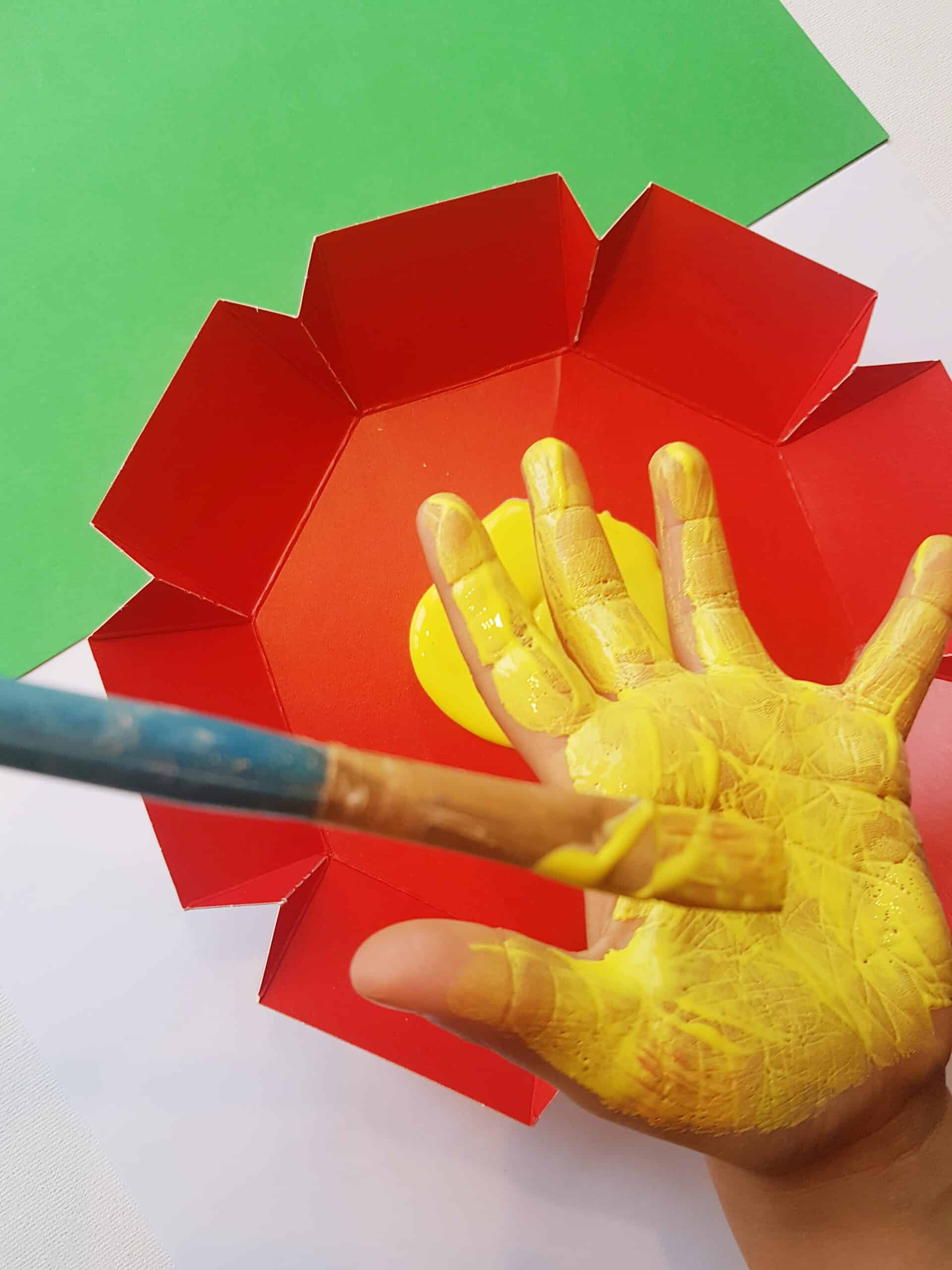 paint your hands
