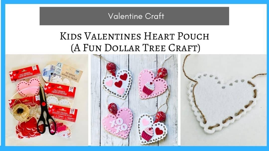 valentine heart candy gram craft