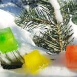How to Make a Winter Scavenger Hunt With Colored Ice Cubes