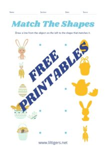 free printable easter worksheets