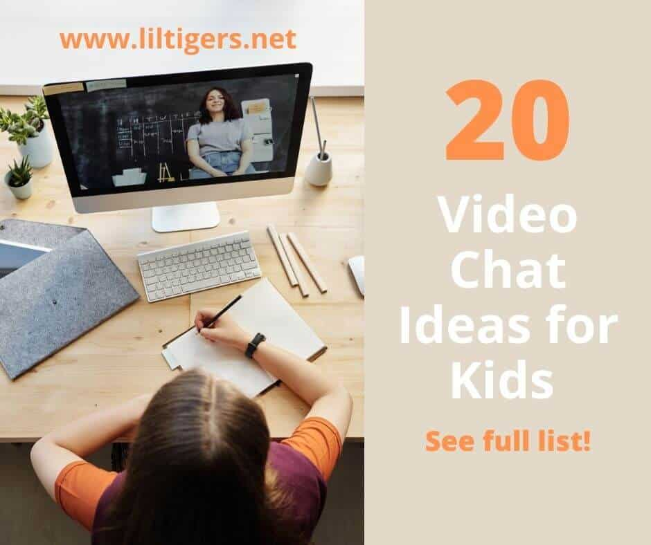 20 video chat ideas for kids
