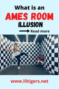 Ames Room Illusion - Optical Illusion