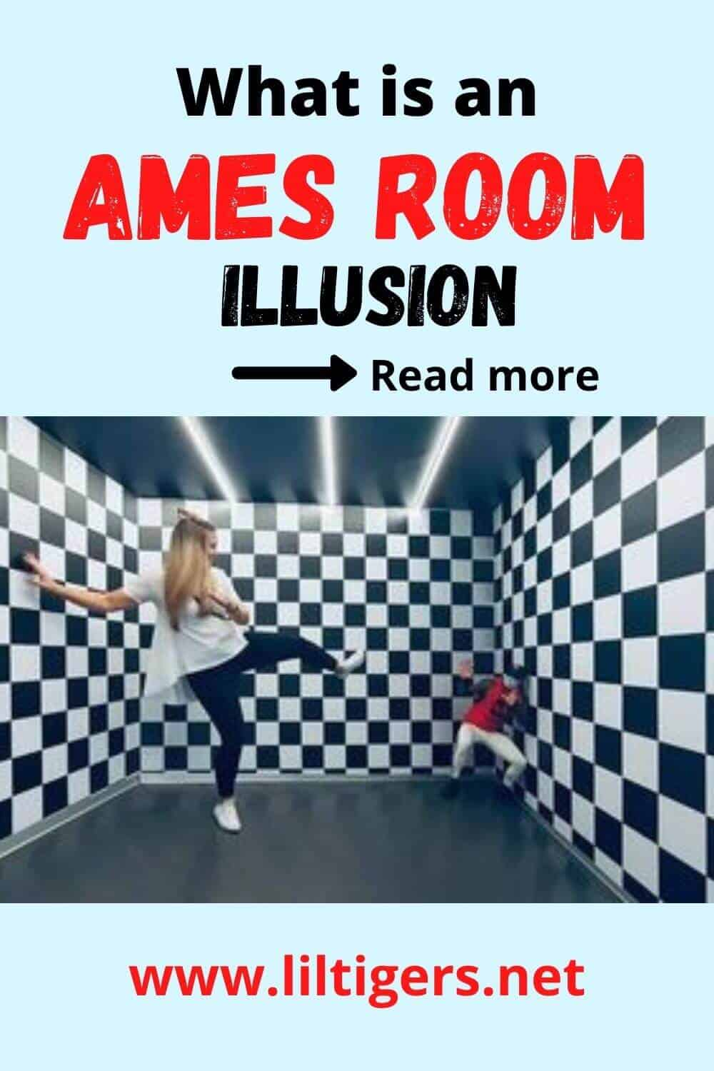 The Ames Room Illusion an Optical Illusion Room
