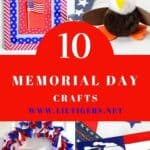 10+ Easy Memorial Day Crafts for Kids (age3+)
