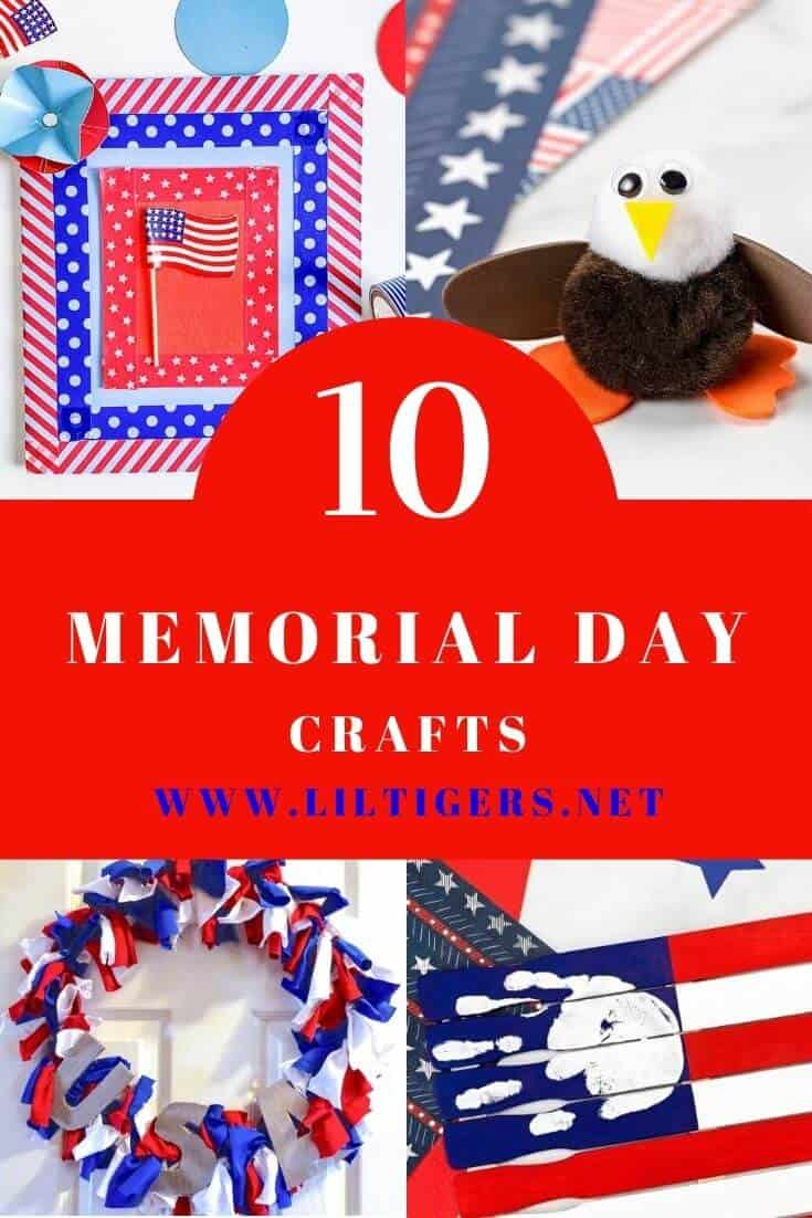 10 Easy Memorial Day Crafts for Kids