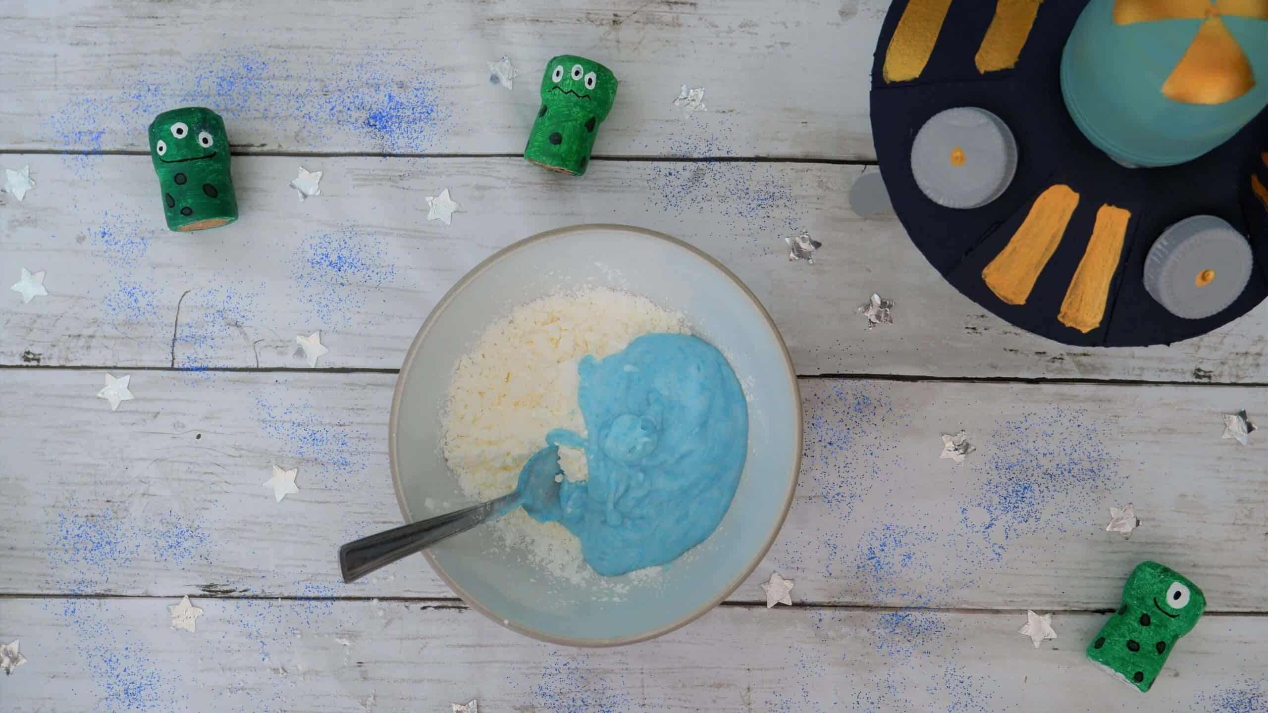 mix moon dough