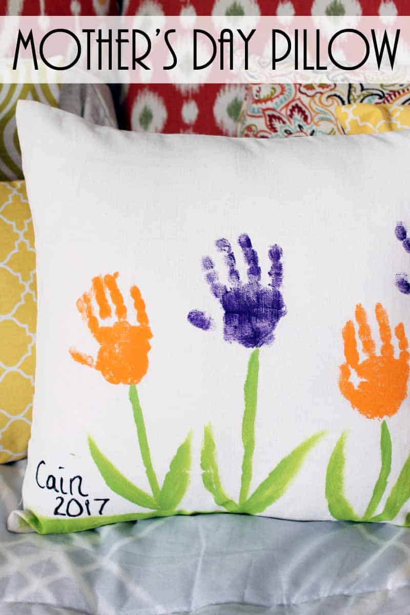 mothers day pillow cover