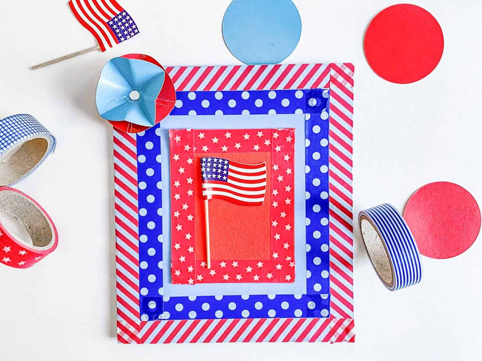 patriotic memorial day card