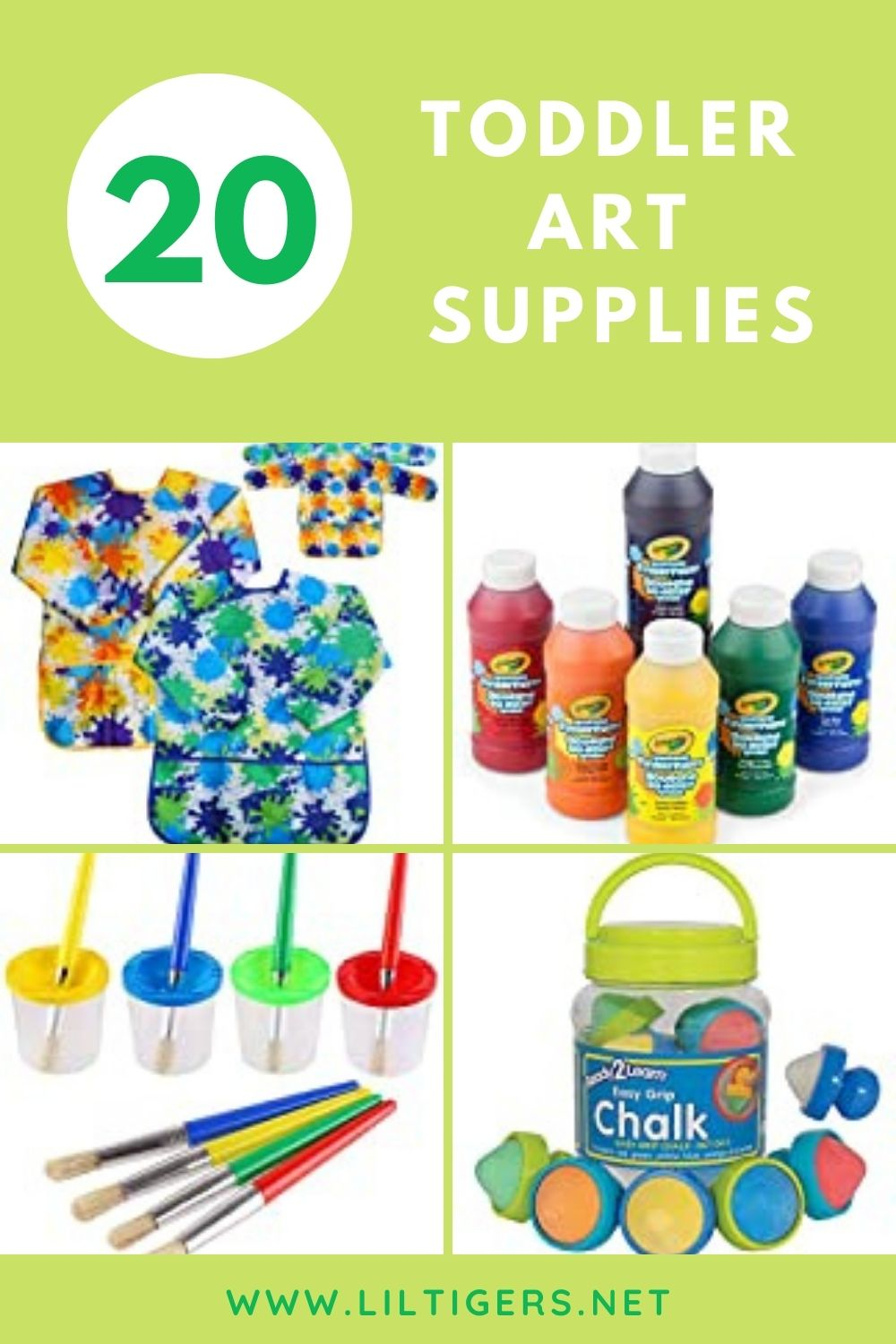 20 Must Have Toddler Art Supplies