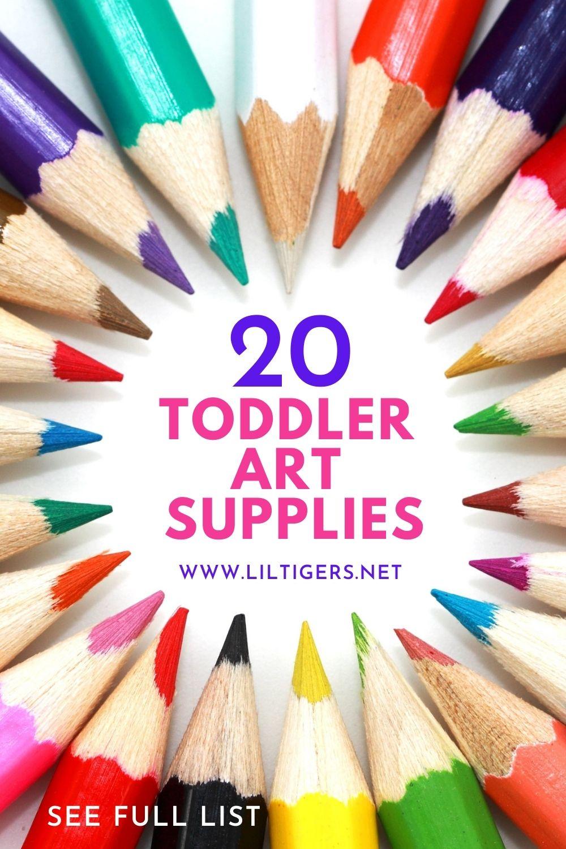 20 Best Toddler Art Supplies (2021 Reviews)