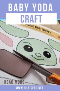 Easy Baby Yoda Craft