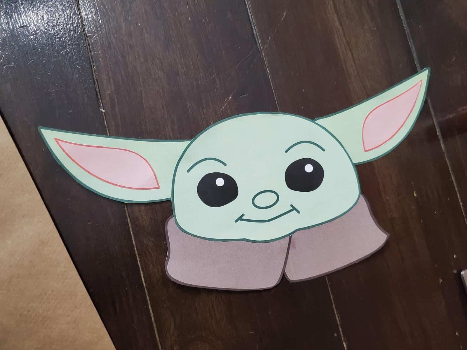 Baby Yoda Goodie Bag Topper