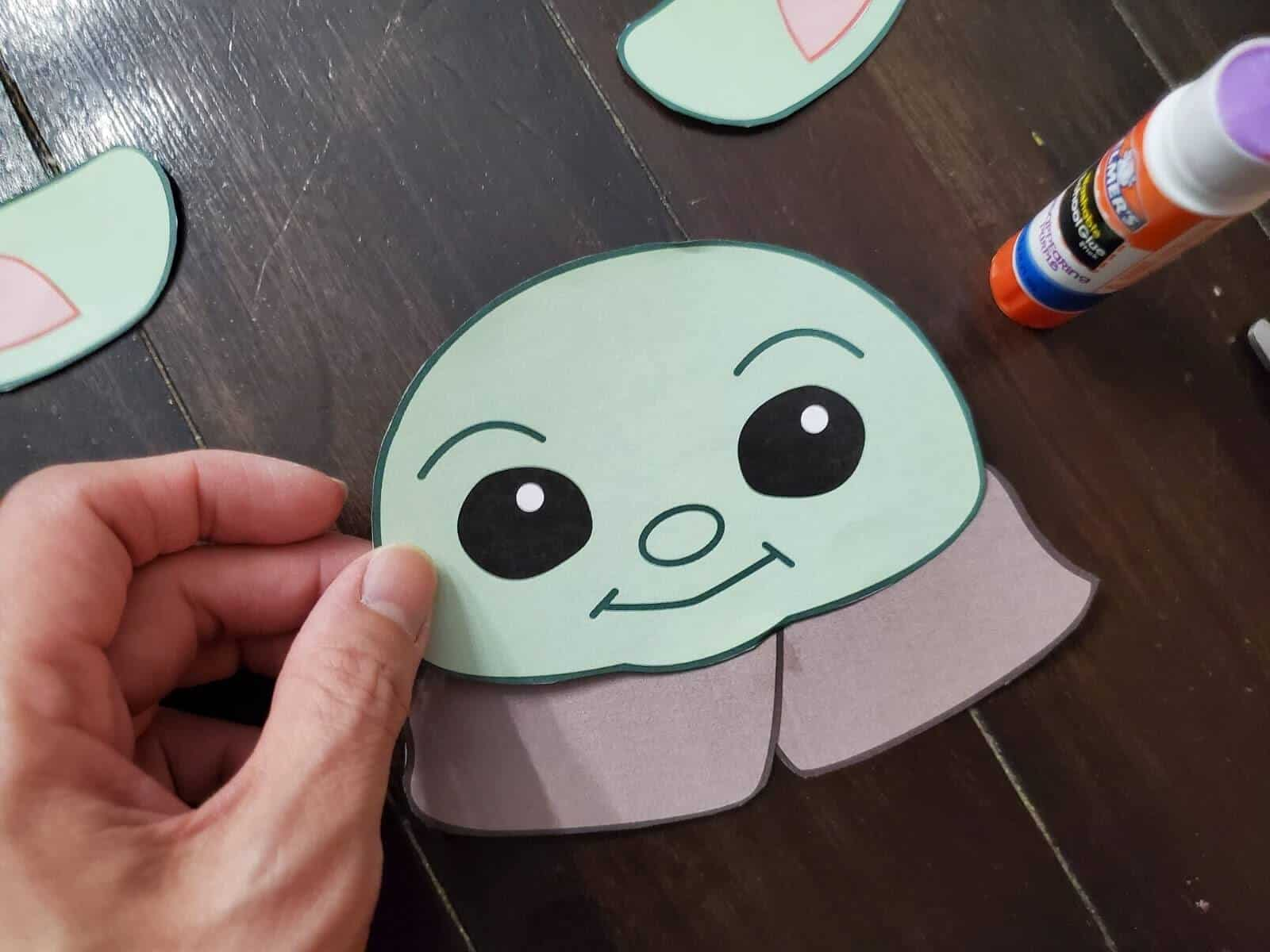 DIY Baby Yoda Craft