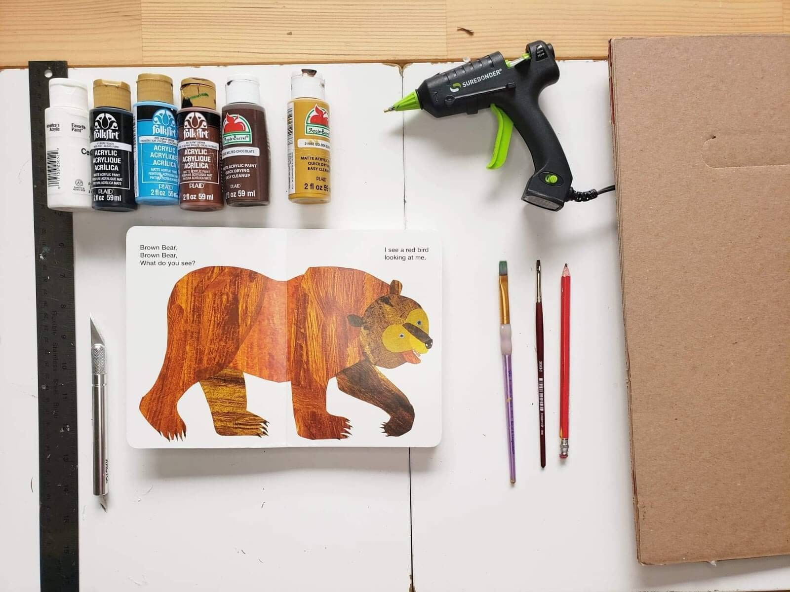 materials for brown bear brown bear what do you see sensory puzzle
