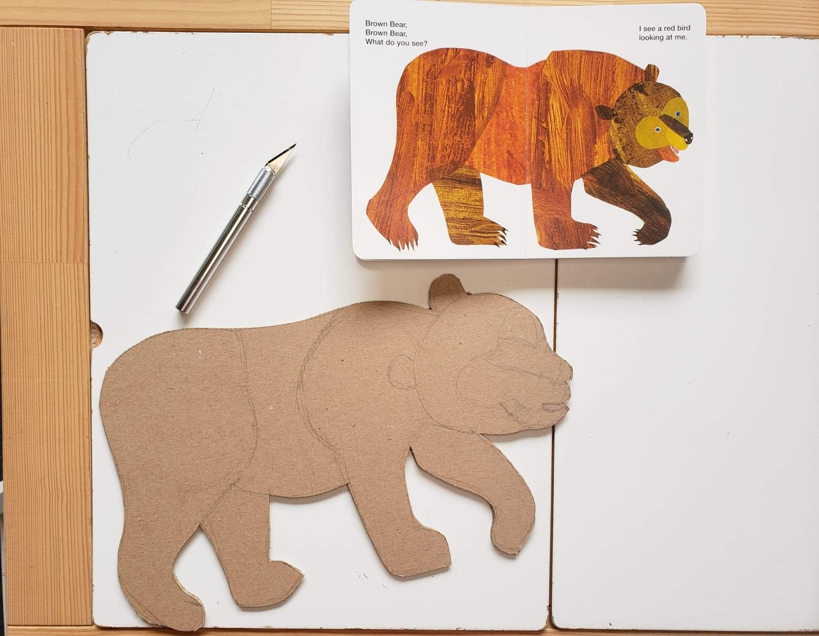 brown bear brown bear what do you see sensory puzzle