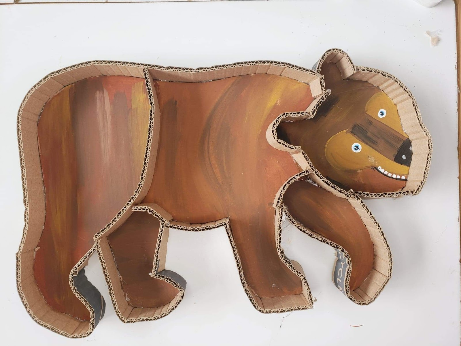 brown bear puzzle