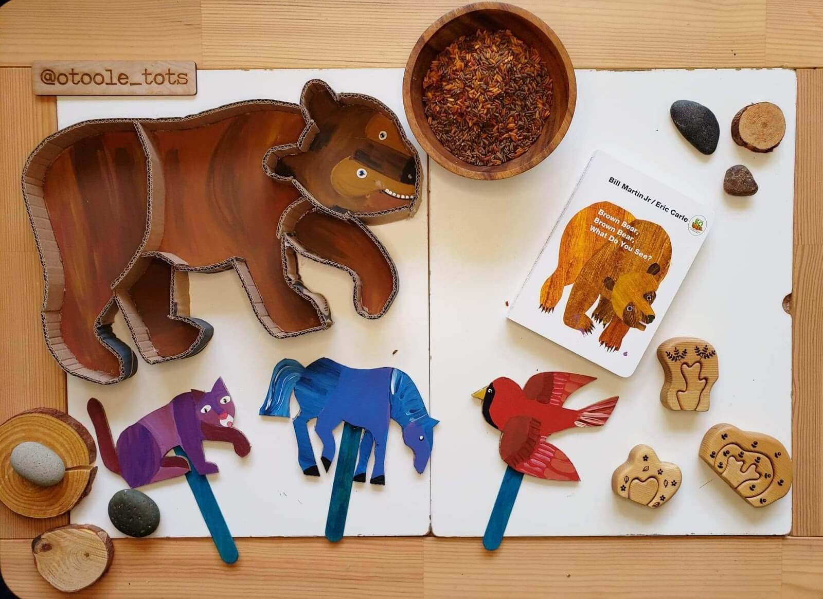 diy brown bear brown bear what do you see puzzle