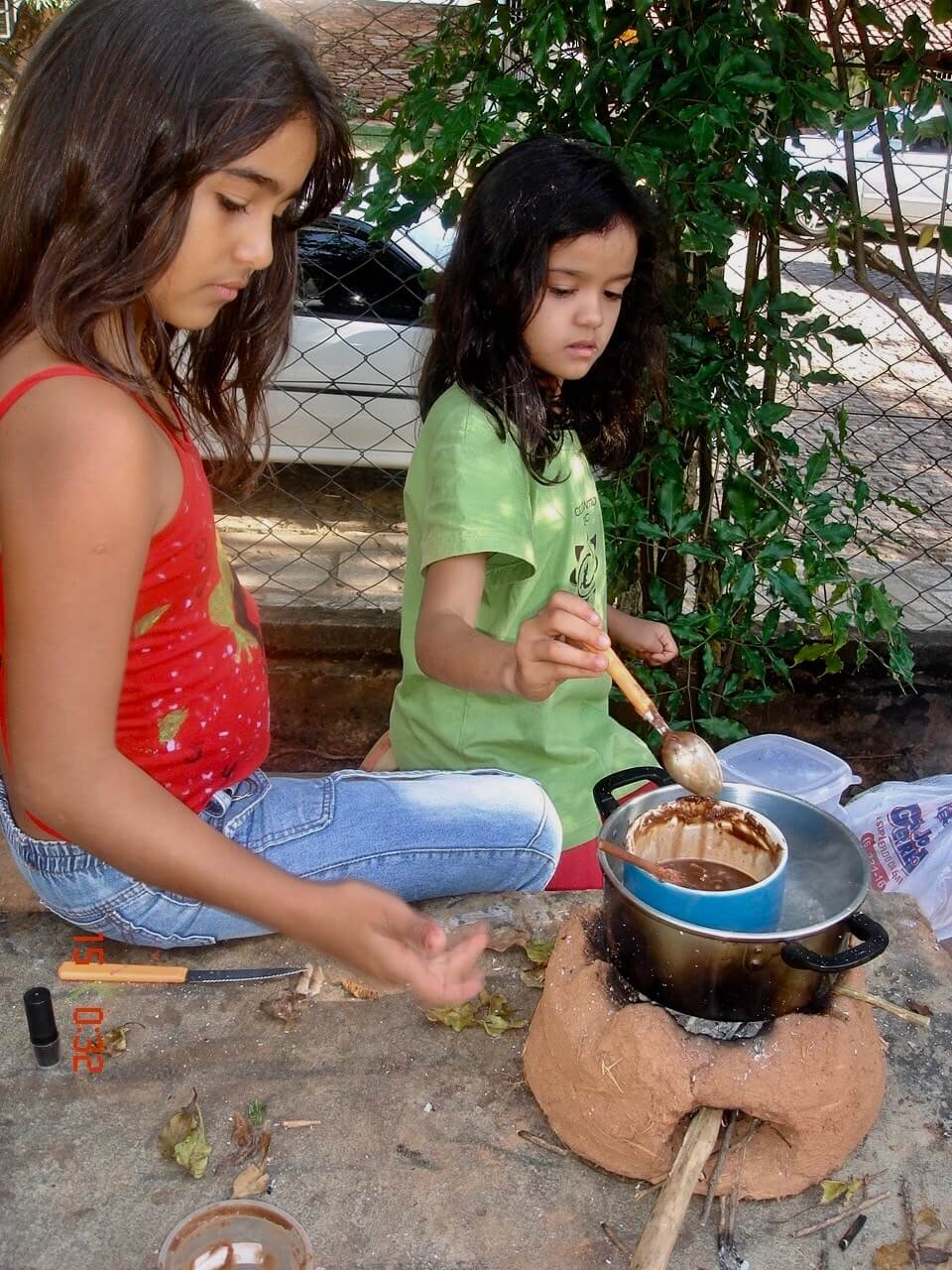 diy clay rocket stove project for kids