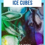 Fizzy Ice Cubes Science Experiment For Kids (age 3+)