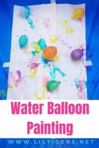 water balloon painting