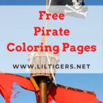 Free Printable Pirate Coloring Pages
